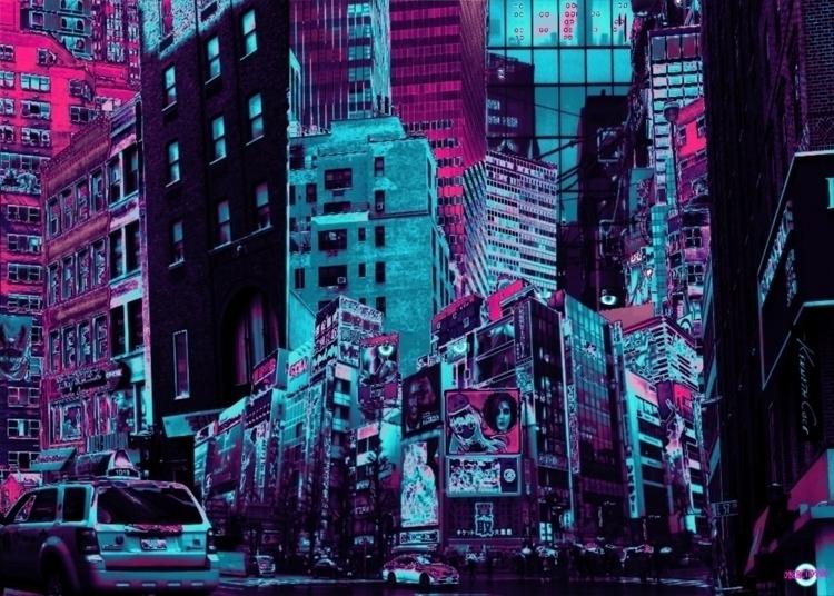 color approach comic, fine deta - cybercitypunk | ello