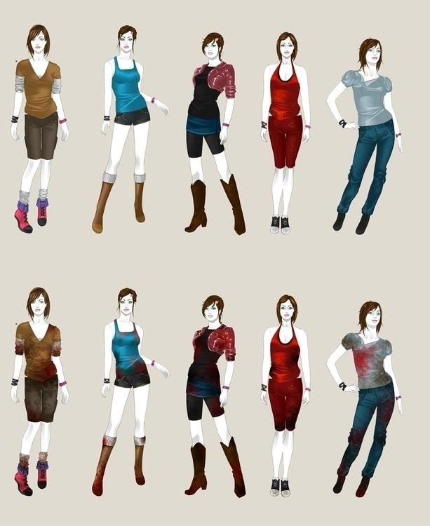 Character Design Zombie Apocali - aeme | ello