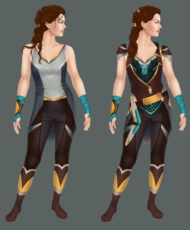 Character Design Sigyn - illustration - aeme | ello