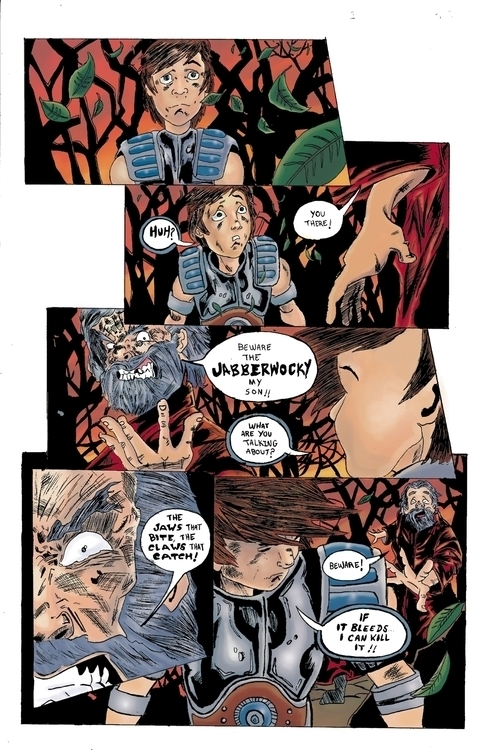 Jabberwocky page 1 - ehernand1 | ello