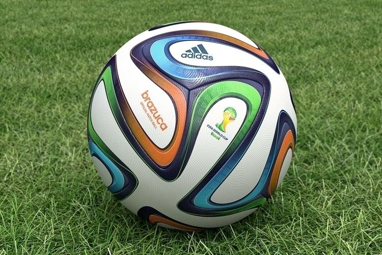 3D Brazuca Ball - soccer, adidas - femayer | ello