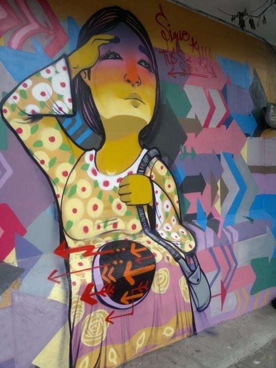 Mural Subida Ecuador Valparaiso - anis88 | ello