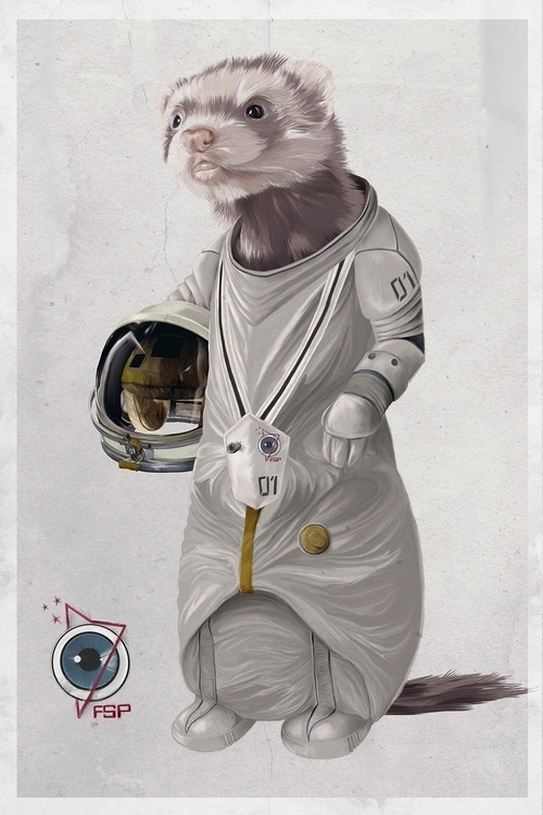 Ferret Space Program Ferreting  - adamdunt | ello