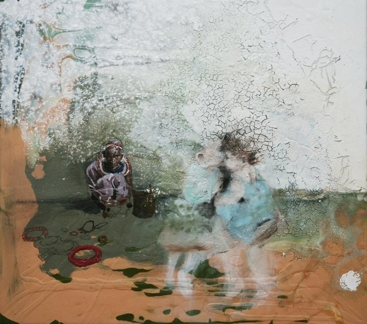 lost painting (memórias meu pai - saritaboomerangdecor | ello