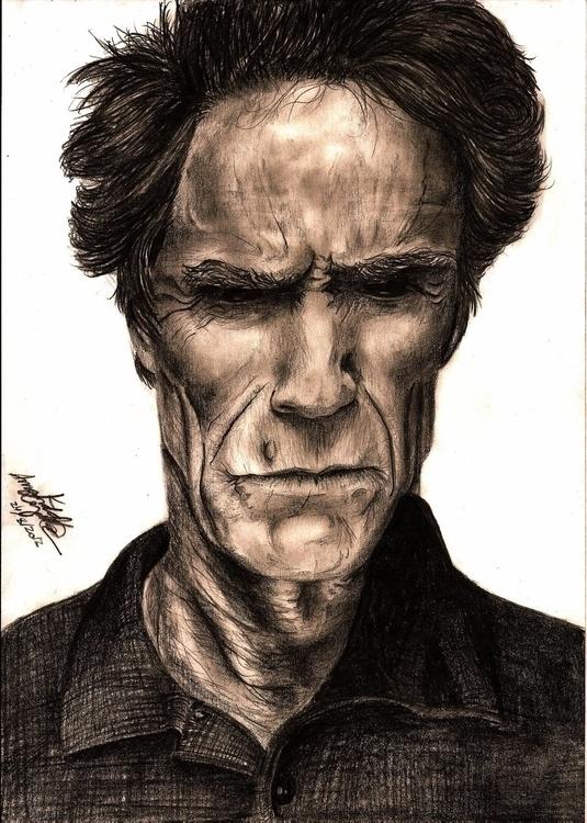 graphite, portrait, draw, face - amandaloyolla   ello
