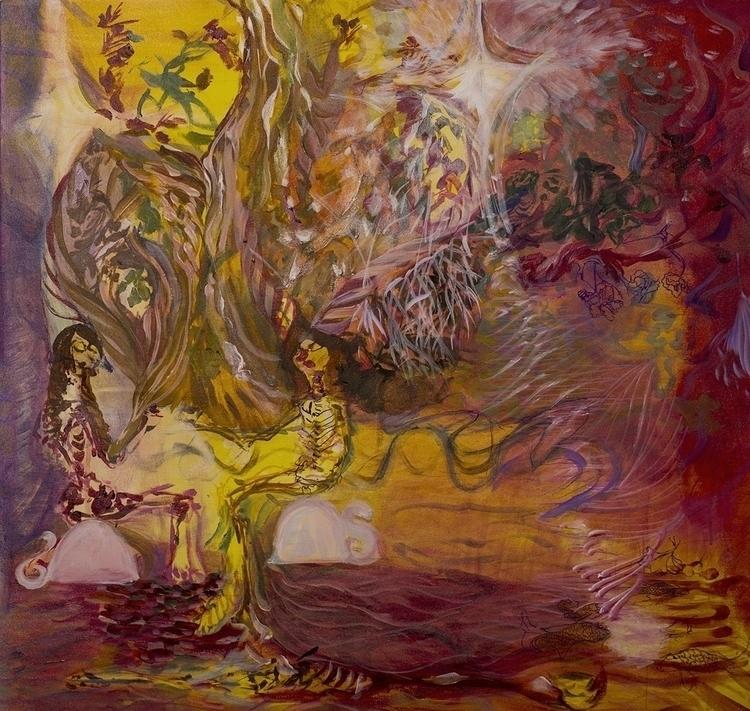 Death Muses - painting - aliziagonzalez | ello