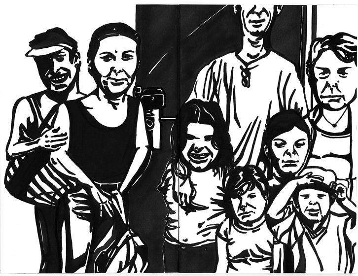 family gate_São Paulo, 2010 - illustration - renataribak | ello