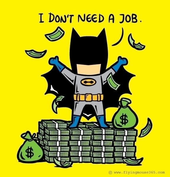 Part Time Job 010  - batman, movie - flyingmouse365 | ello
