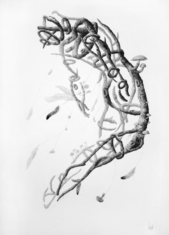 stick man - art, drawing, fineart - gawie | ello