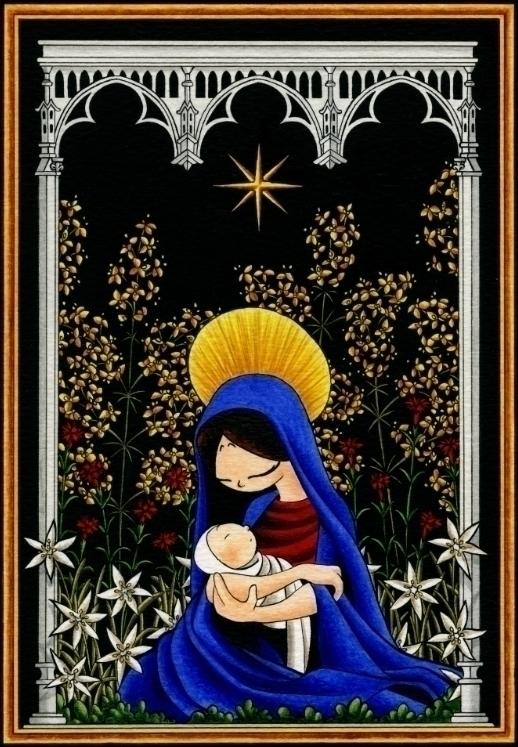 Hortus Conclusus - christmas, holiday - dianamascarenhas | ello