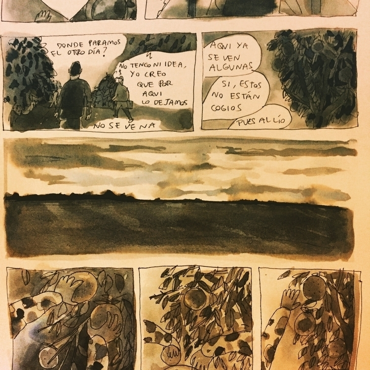Preview - comic, fanzine, watercolour - carloshebles | ello