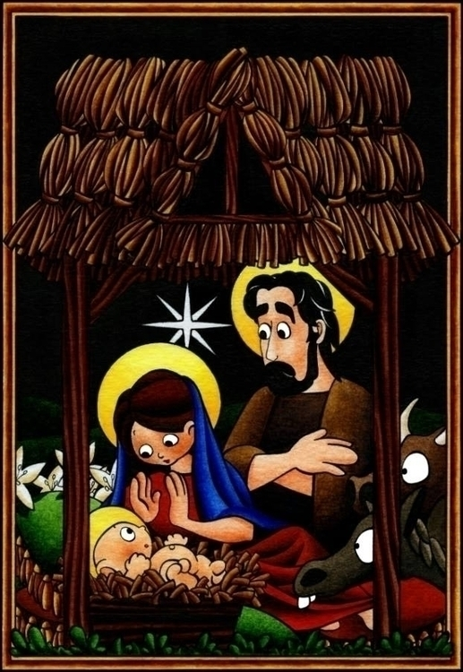 Nativity - christmas, nativity, baby - dianamascarenhas | ello