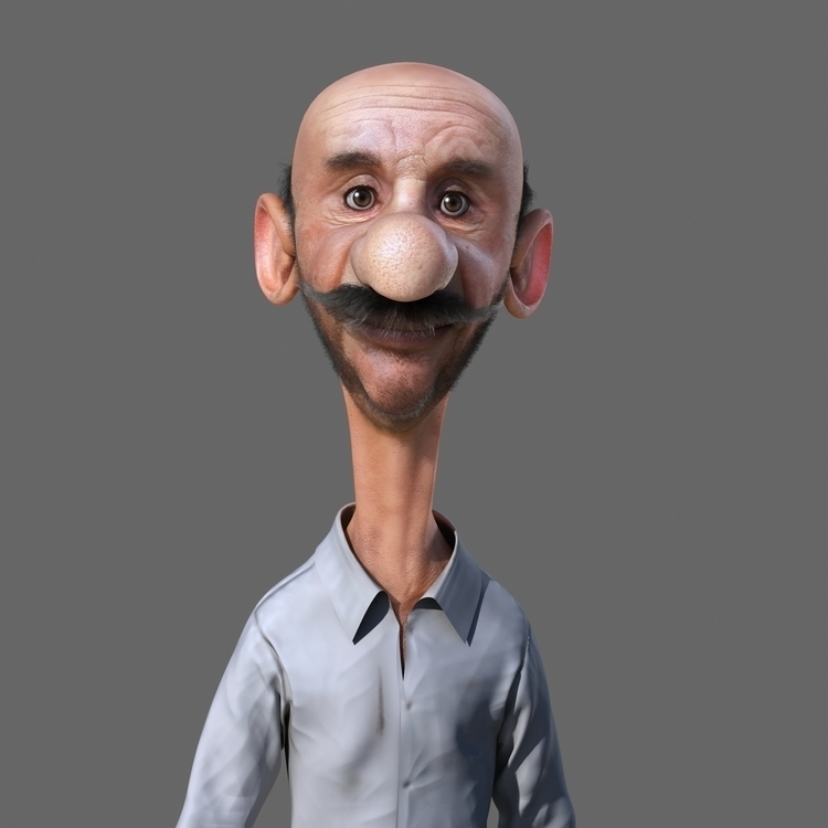 Download free - 3d, characterdesign - yamen3d | ello