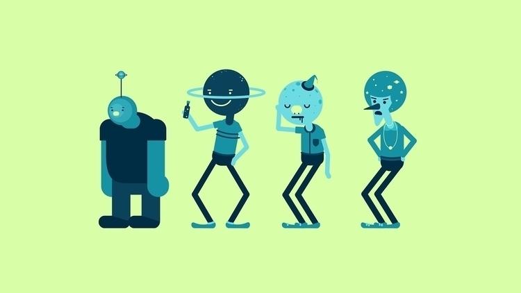 Dancing Stars Character design  - alexchan1991 | ello