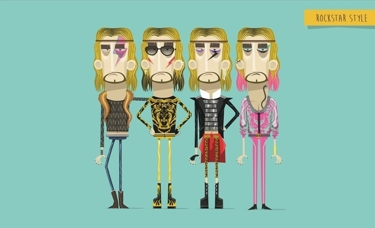 Rockstar 03 - rock, vogue, clothing - federicobonifacini | ello