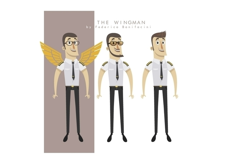 Wingman - wingman, characterdesign - federicobonifacini | ello