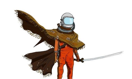 comics, characterdesign, sci-fi - yerk | ello