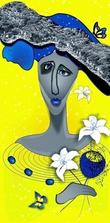 Lilia - lilia, floral, yellowstone - tattiart | ello