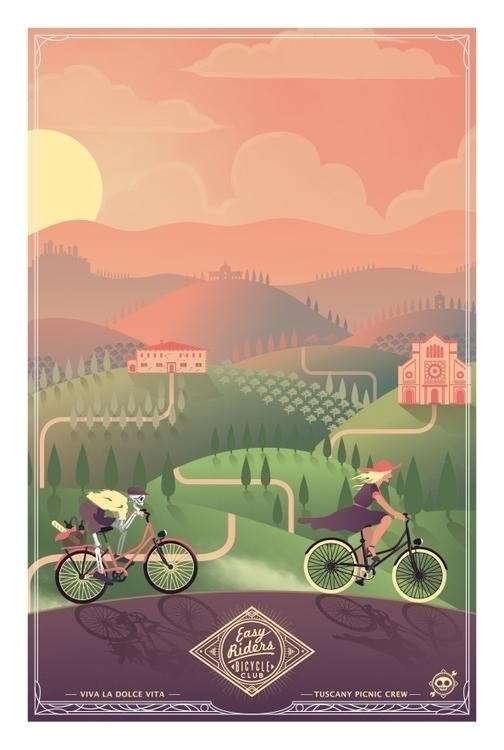 Easy Rider - Tuscany project pe - ladislas-2174 | ello