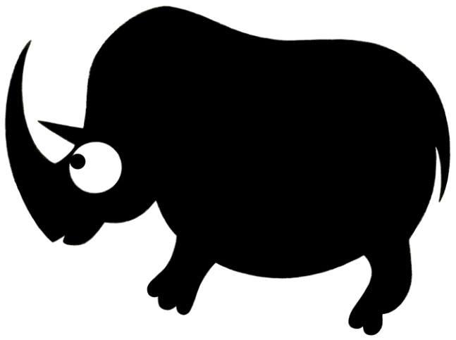 Rhinoceros Tichorhinus - primitive - dianamascarenhas | ello