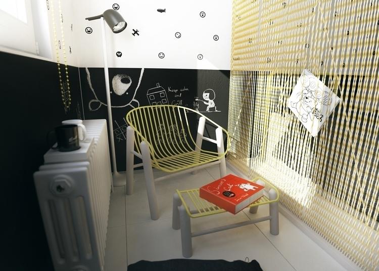 Kids room - kids, interior, interiordesign - fungrafica | ello