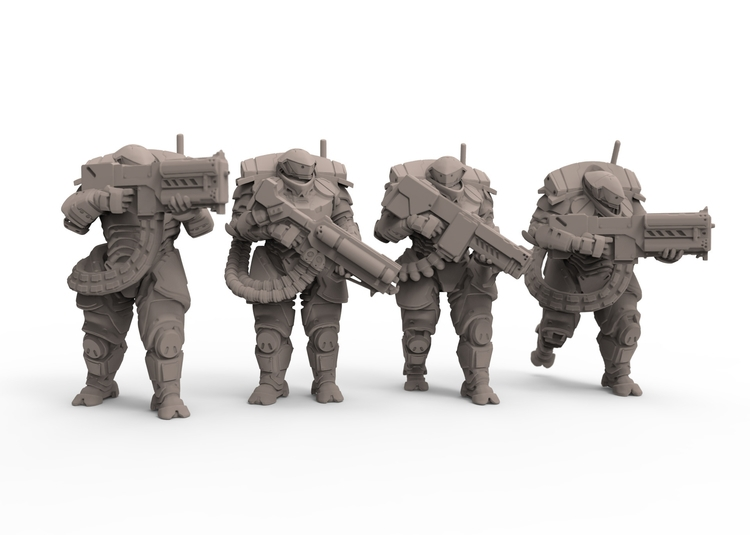 'Talos' 15mm Figure Range - gameart - adamrodgers-1139 | ello