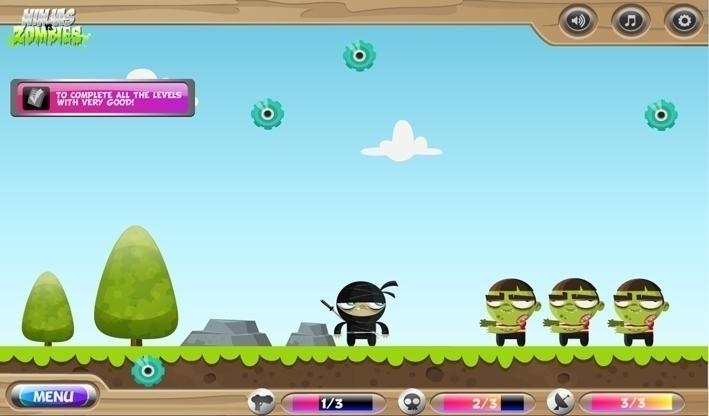 Ninjas Zombies game design - Ingamedesign - federicobonifacini | ello