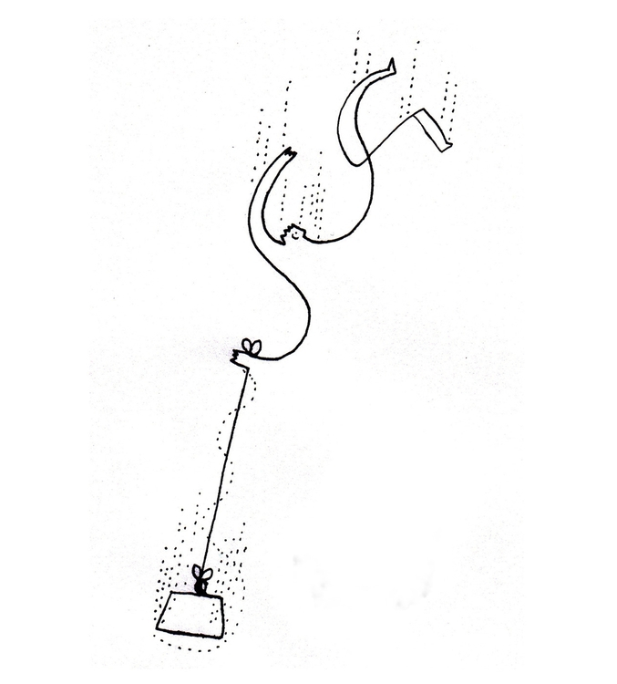 Letdown - illustration, linework - shimaby | ello