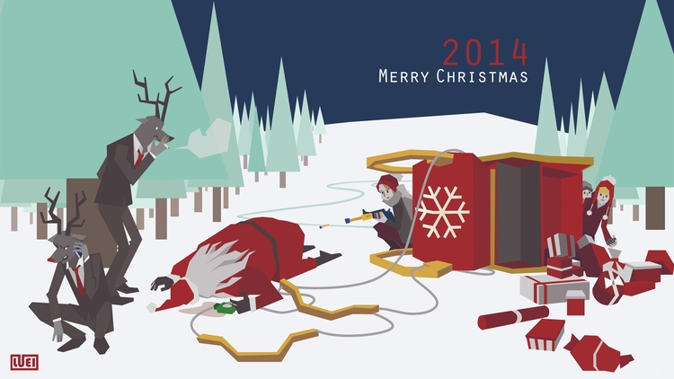 card 2015 - illustration - luei | ello
