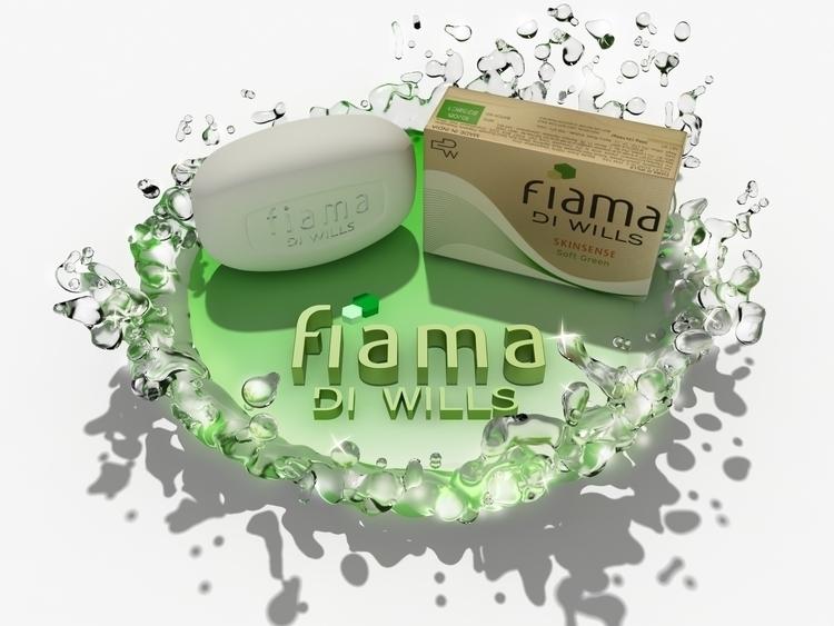 Fiama Di Wills - 3d, floorstickers - anoop-3091 | ello