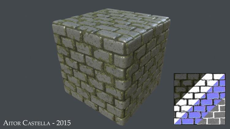 Rock Tiles - substance, 3d, 3dart - aitorc2 | ello
