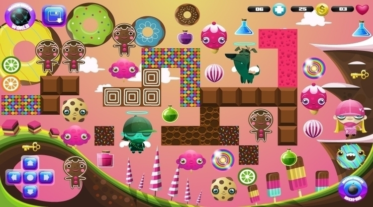Boomberland - game backgrounds - federicobonifacini | ello
