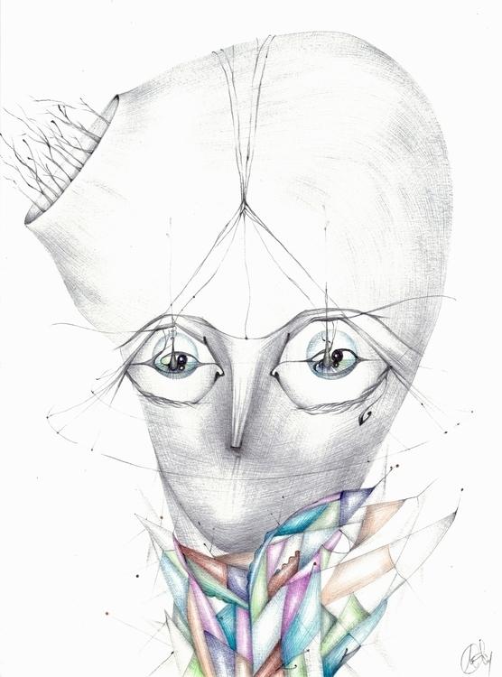 Pirtol, ballpoint pen drawing 1 - manuela-1364 | ello