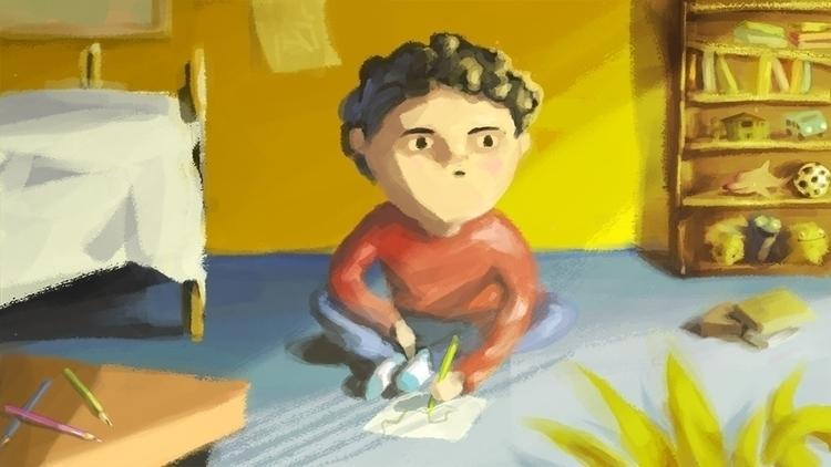 illustration, characterdesign - diegocristofano | ello