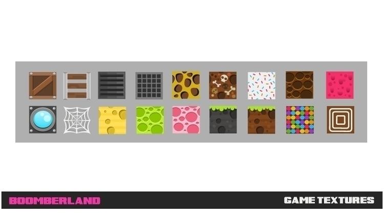 Boomberland Game textures - textiles - federicobonifacini | ello