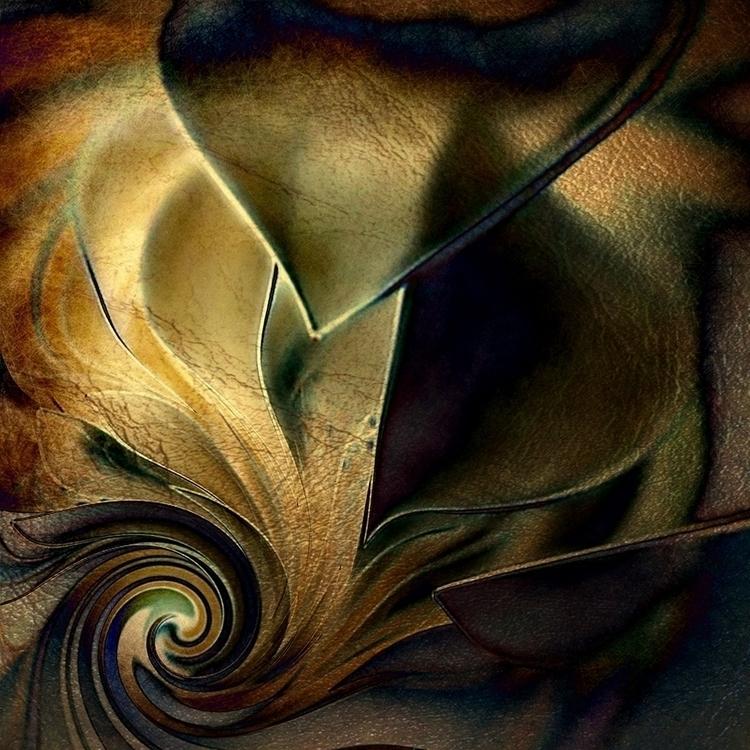 LIGHT NIGHT - abstract, digital - carmenvelcic | ello