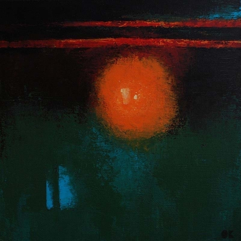 LIGHT acrylic canvas, 30x30 cm - ogel | ello