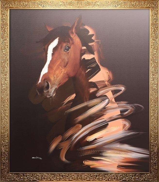 Natalea. great horse - horsesinaction - emilioartist | ello