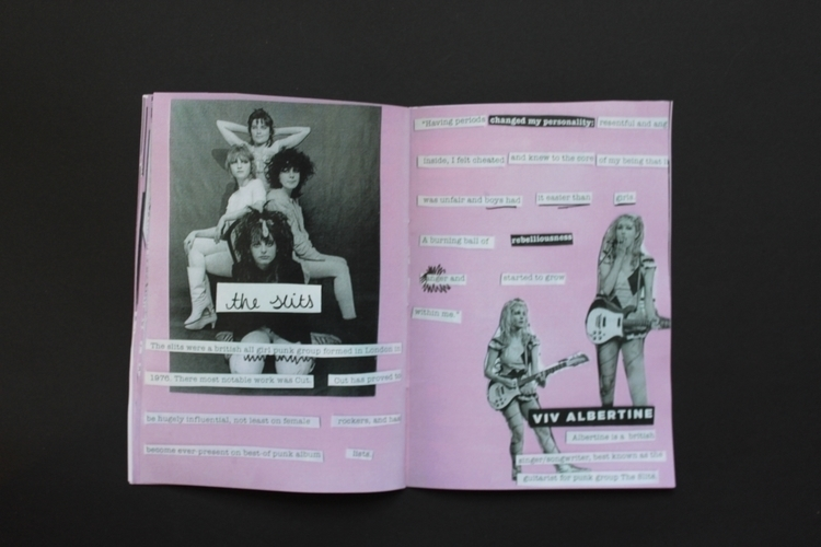 Pt 4 // Woman punk hand zine. f - rebeccakelly-4144 | ello
