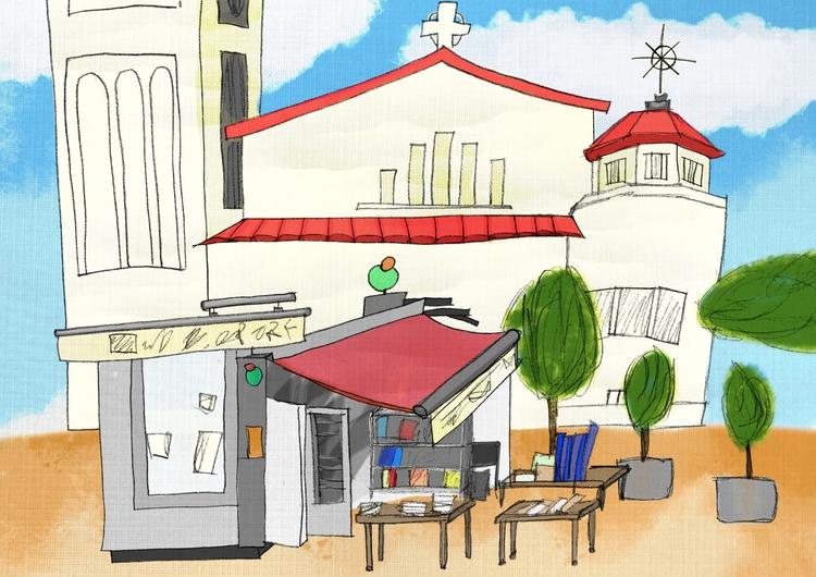 City Sketch - illustration, drawing - aitorc2   ello