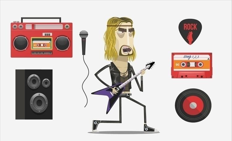 Rockstar 02 props - propdesign, rock - federicobonifacini | ello