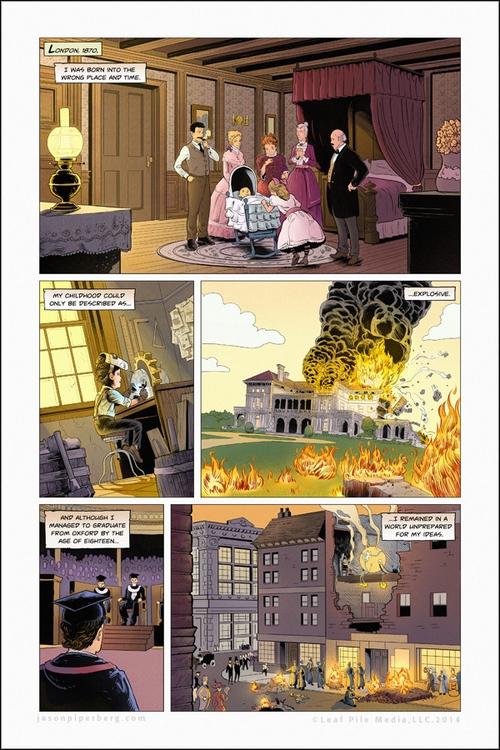Champions Hara Chapter 1, Page  - jasonpiperberg | ello