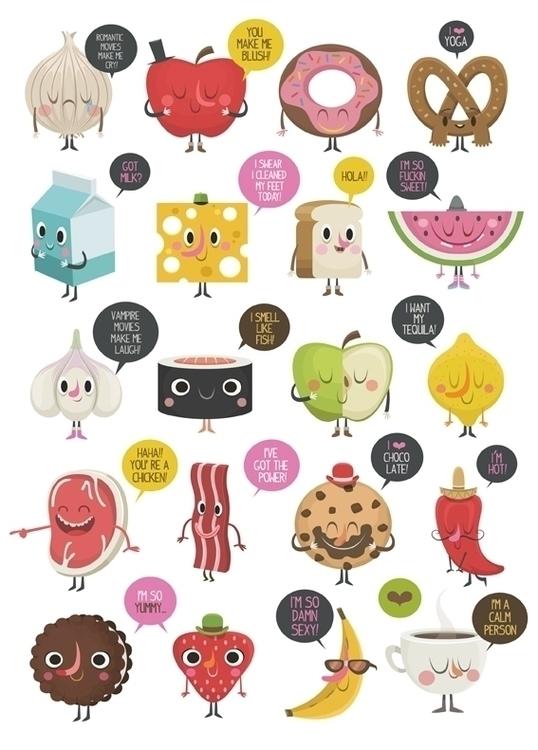 Food 02 - foodillustration, illustration - federicobonifacini | ello