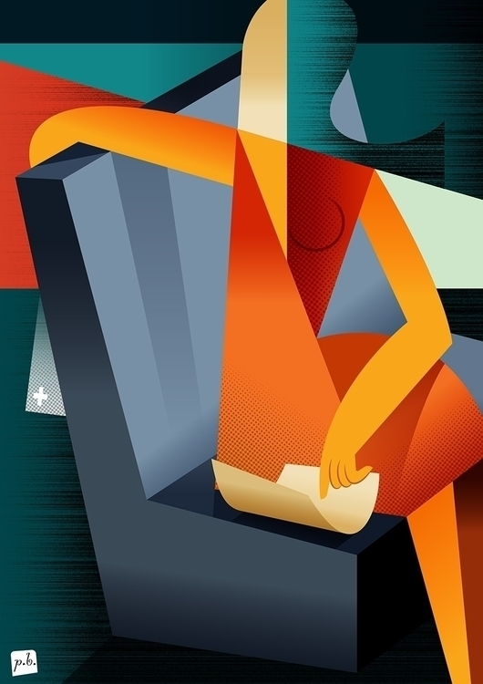 Conjunto de três ilustrações pa - paulobuchinho | ello