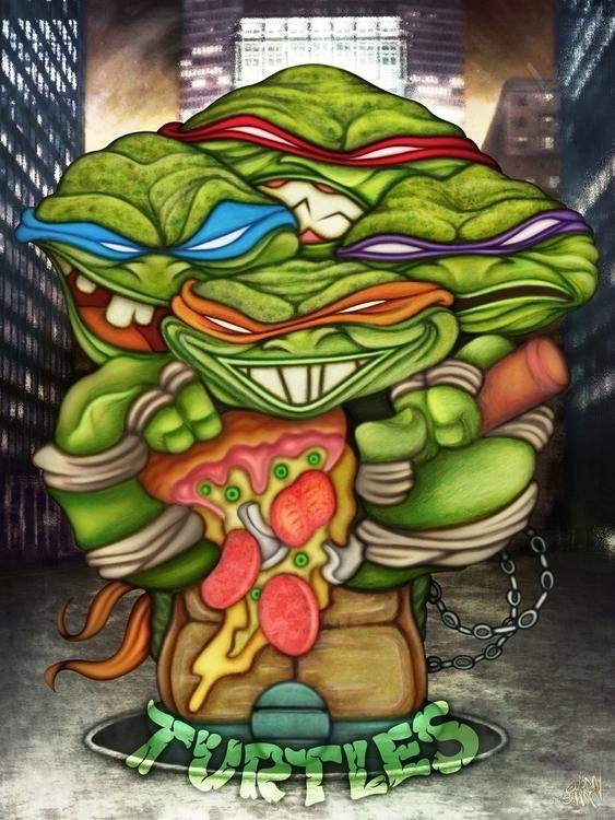 Teenage Mutant Ninja Turtles - TeenageMutantNinjaTurtles - eliran_bichman   ello