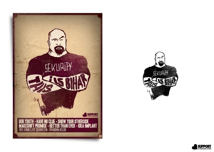 bihar 03 - posterdesign - brown-1009 | ello