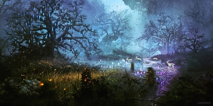 Enchanted - enchanted, magical, forest - digitalhadz | ello