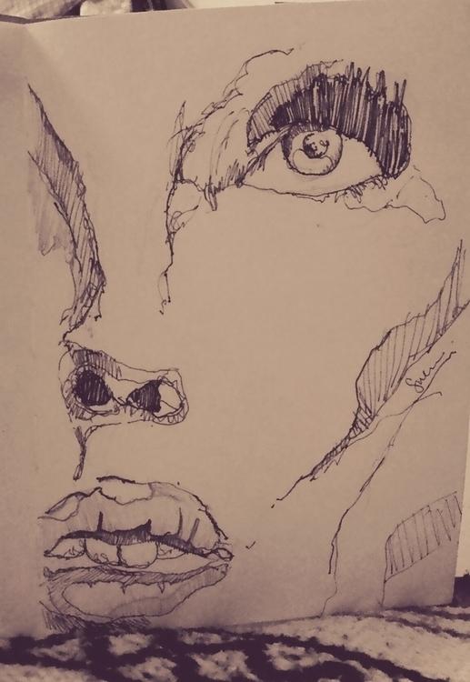 sketches, potrait - suraiyashahid | ello