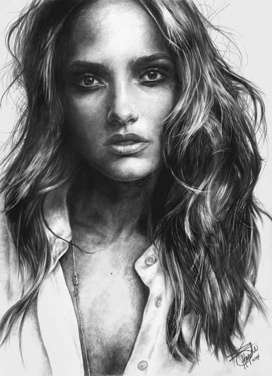 SOFIA - illustration, portrait, portraiture - neilbrian | ello