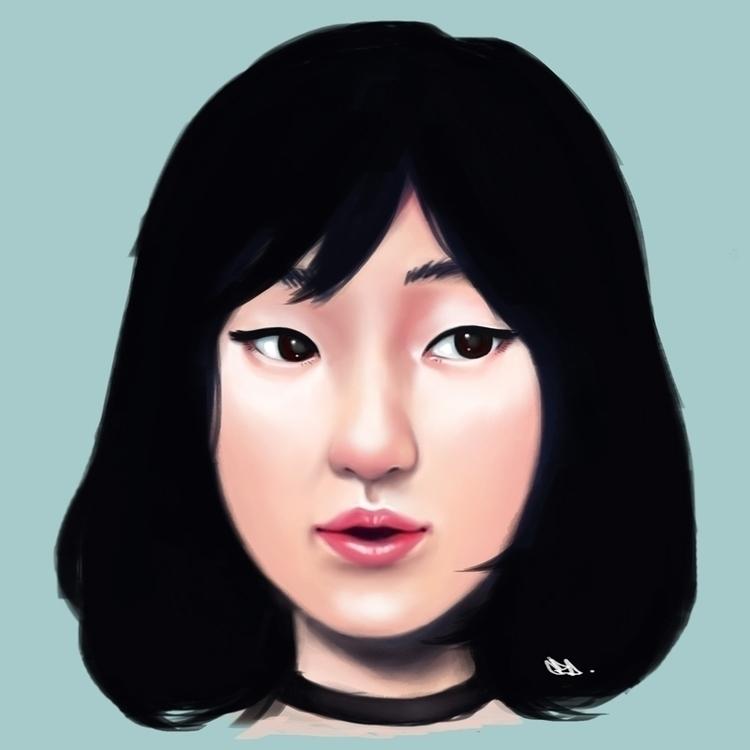 Beauty asian girl short hairsty - czacaesar | ello